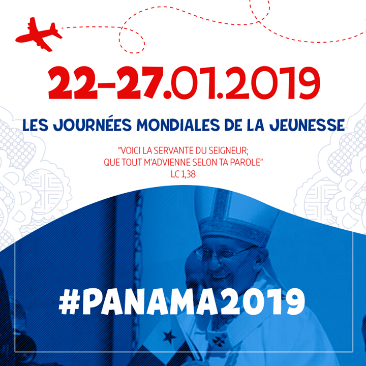 JMJPanama2019 dates