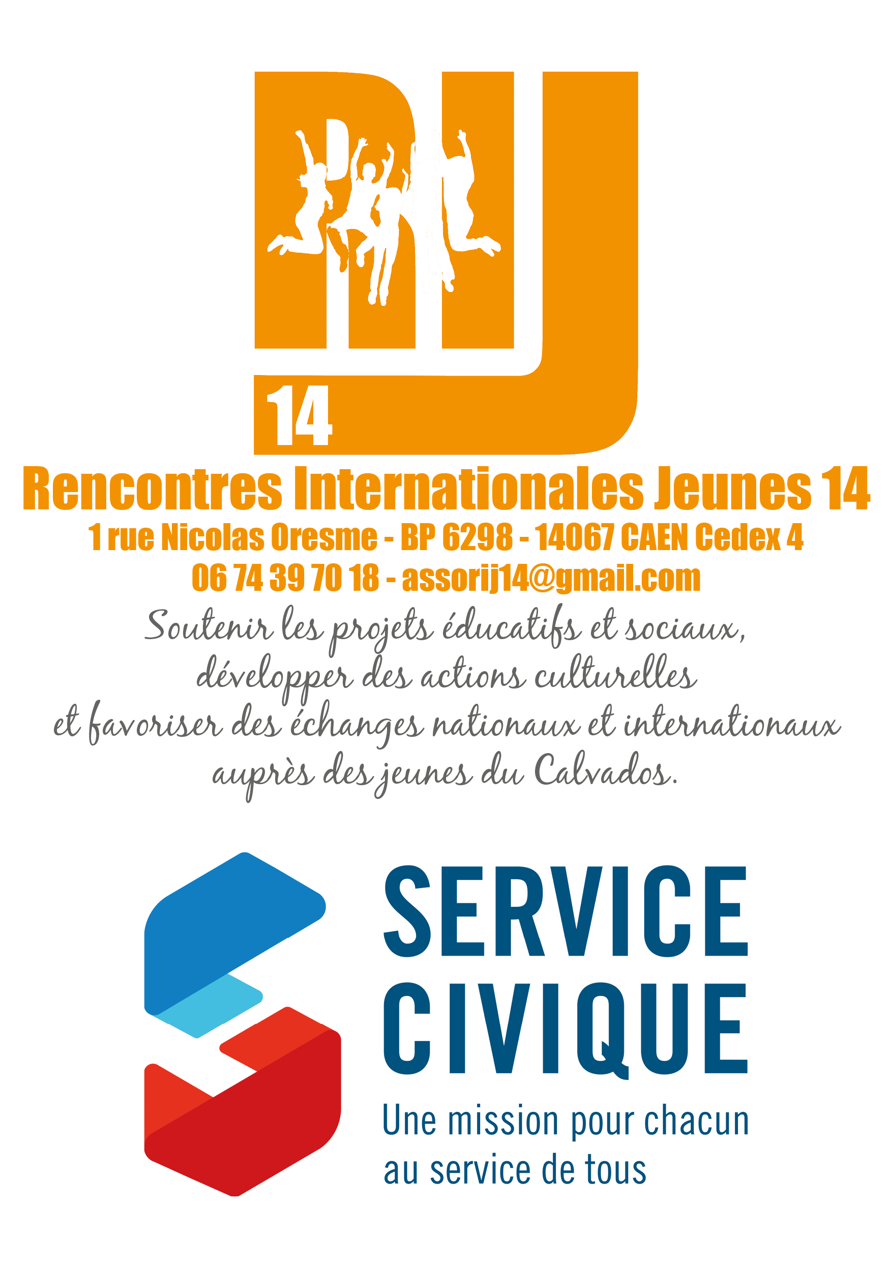 RIJ14 service civique